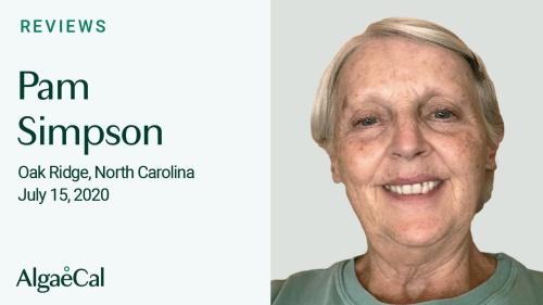 Testimonial thumbnail portrait of Pam Simpson
