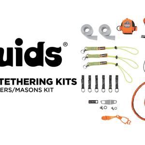 Ergodyne Product Video - Squids<sup>®</sup> 3184 Concrete Finisher & Mason's Tool Tethering Kit