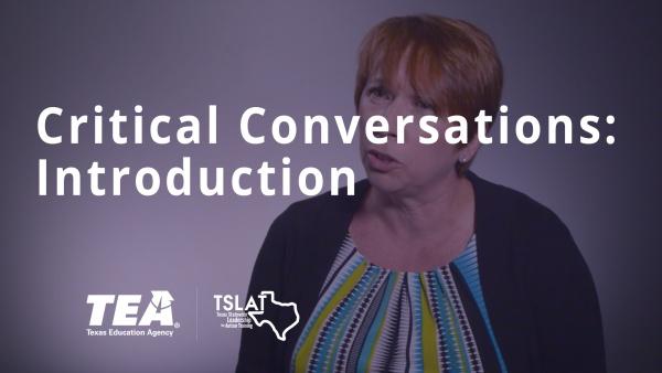 Critical Conversations: Introduction
