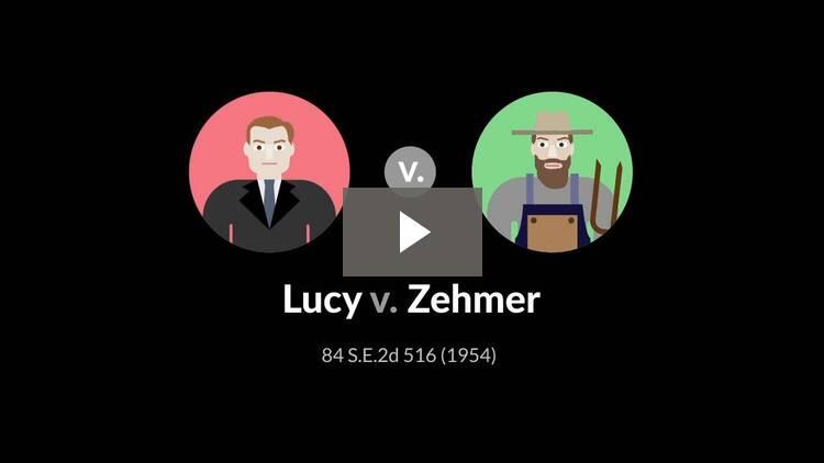 Lucy v. Zehmer