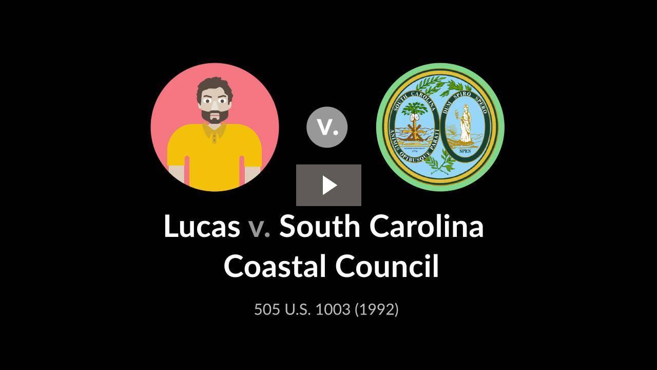 Lucas v. South Carolina Coastal Council