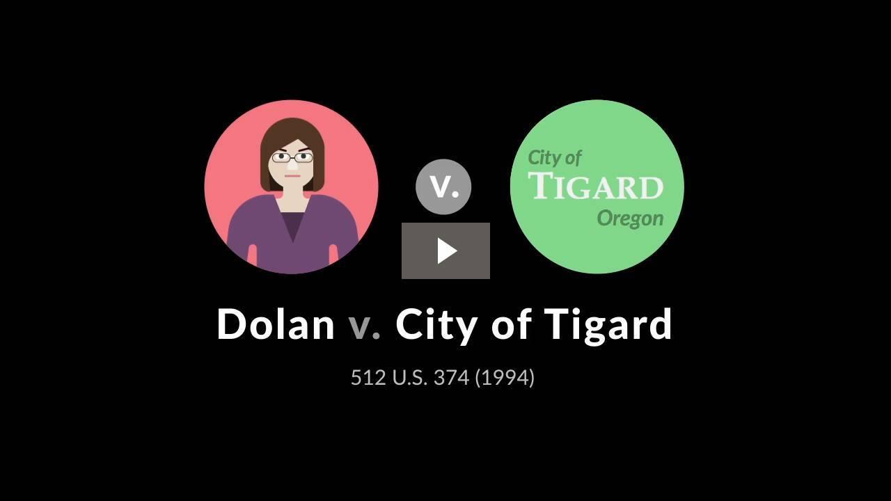 Dolan v. City of Tigard