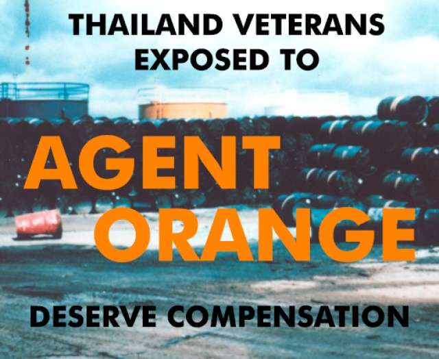 Thailand Veterans Exposed to Agent Orange Deserve Compensation