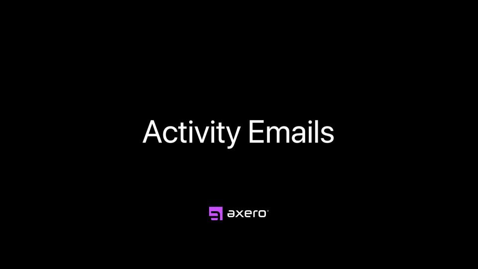 Activity Emails
