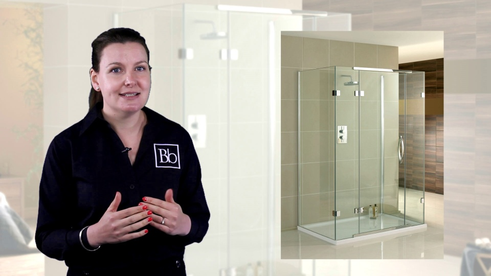 3 Sided Shower Enclosures & Cubicles - D Shaped - Bella Bathrooms