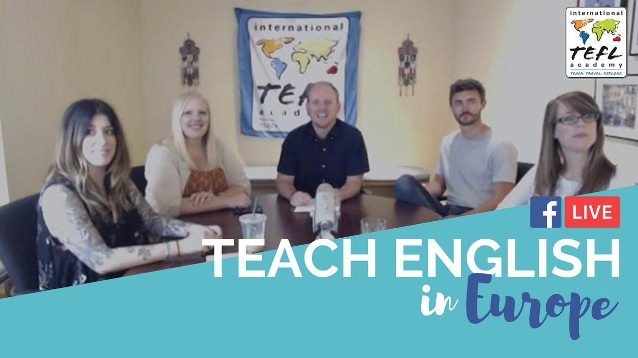 Teach English in Europe - ITA Advisor Q&A