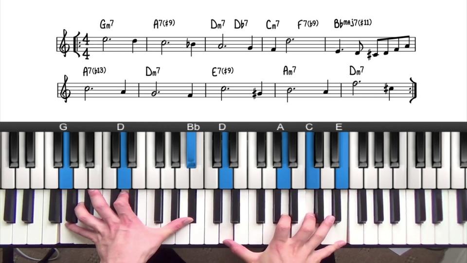 Upper Structure Triads Tutorial Pianogroove