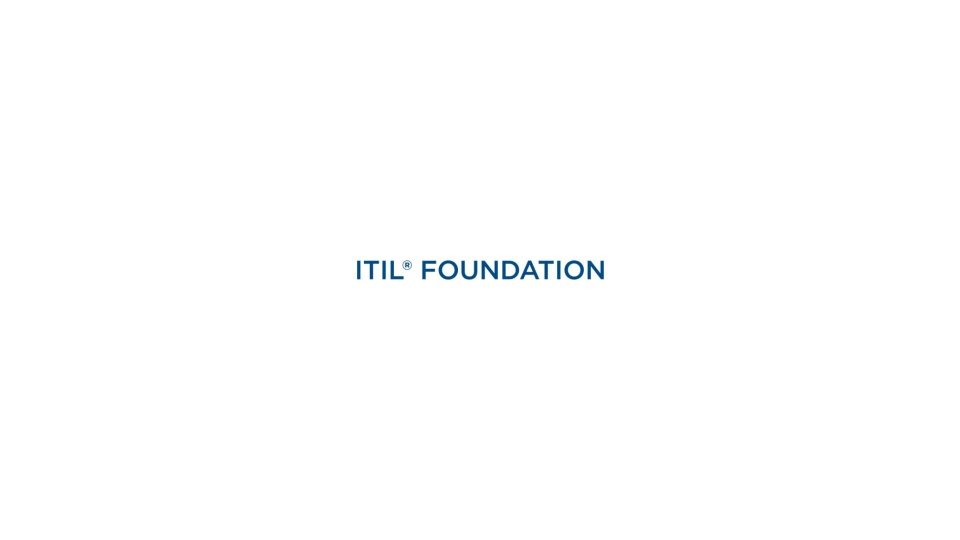 Itil Foundation Certification Training Course Global Knowledge