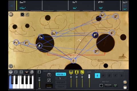 Mapping Tonal Harmony Pro -  music tool for musicians.