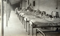 What did private healthcare look like before the NHS?