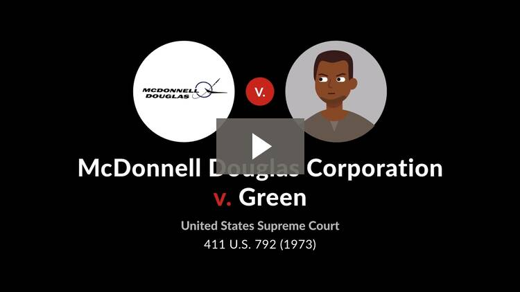 McDonnell Douglas Corp. v. Green