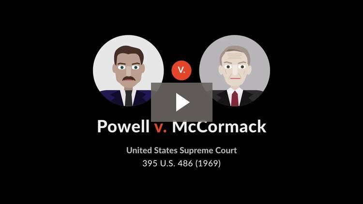 Powell v. McCormack
