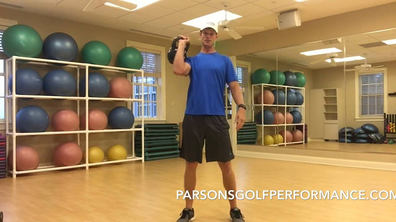 Total Body Workout to Hit Peak Golf Performance