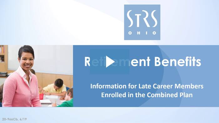 Thumbnail for the 'Retirement Benefits: Combined Plan' video.
