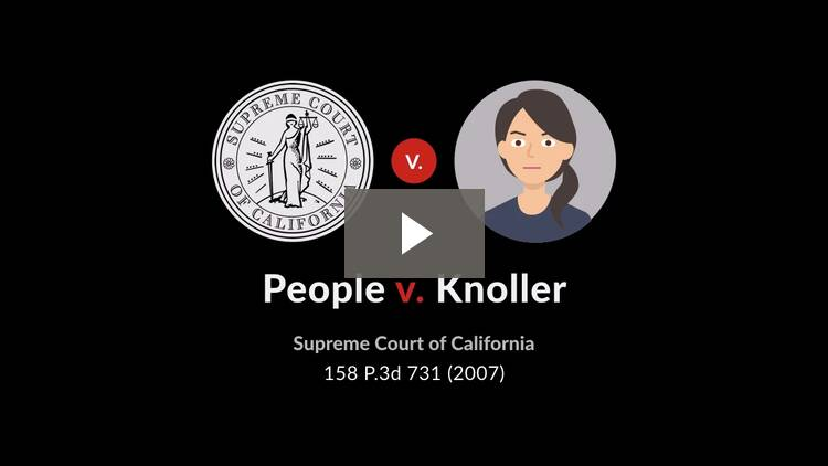 People v. Knoller