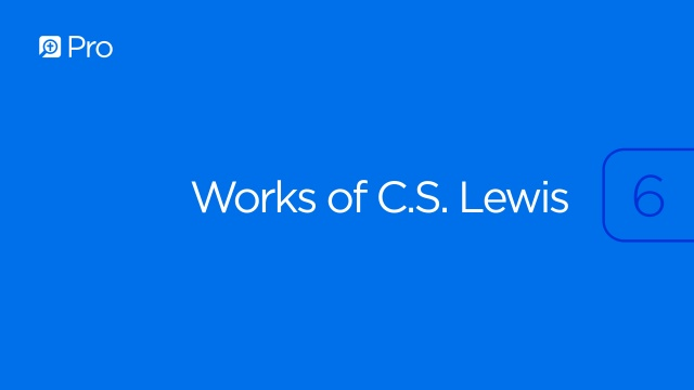 Works of C.S. Lewis