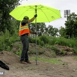Ergodyne Product Video -  SHAX<sup>®</sup> 6100 Lightweight Industrial Umbrella