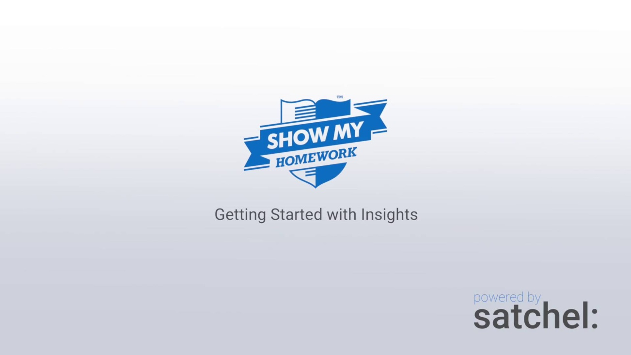 Getting Started with Insights