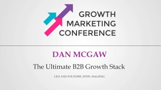 The Ultimate B2B Growth Stack Cover Image