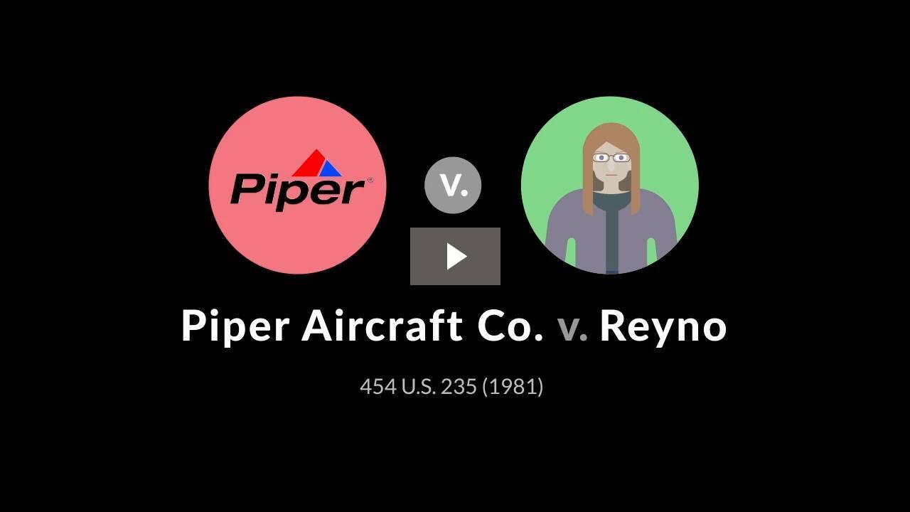 Piper Aircraft v. Reyno