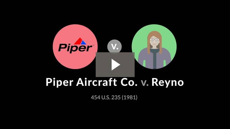 Piper Aircraft Co. v. Reyno
