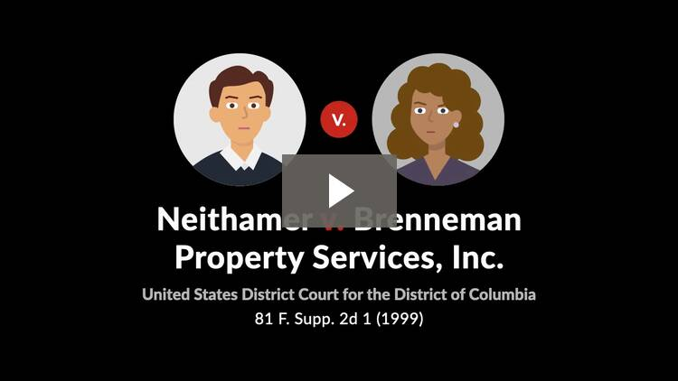 Neithamer v. Brenneman Property Services, Inc.