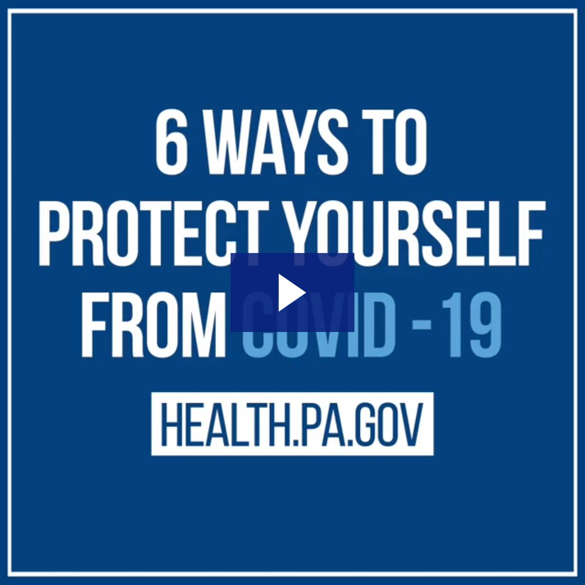 6 Ways to Protect Yourself from COVID-19