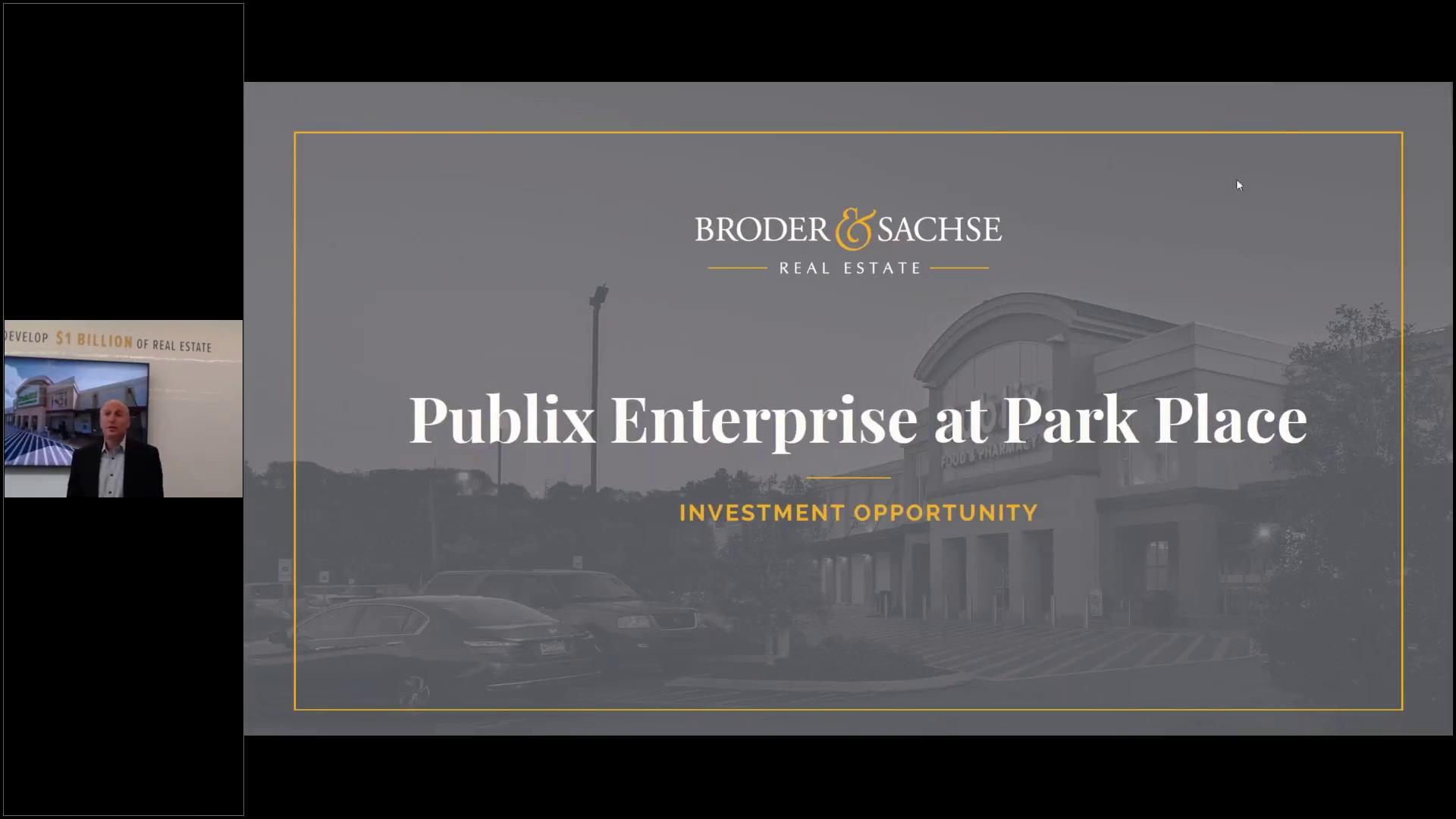 Investment Video - Publix Enterprise at Park Place
