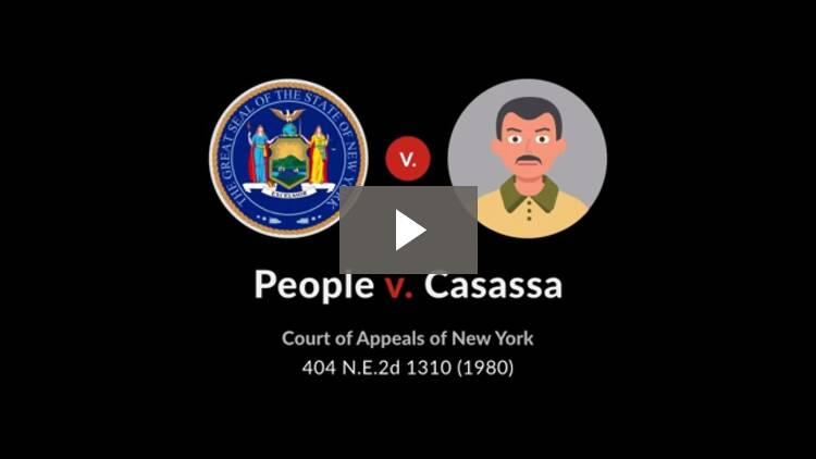 People v. Casassa