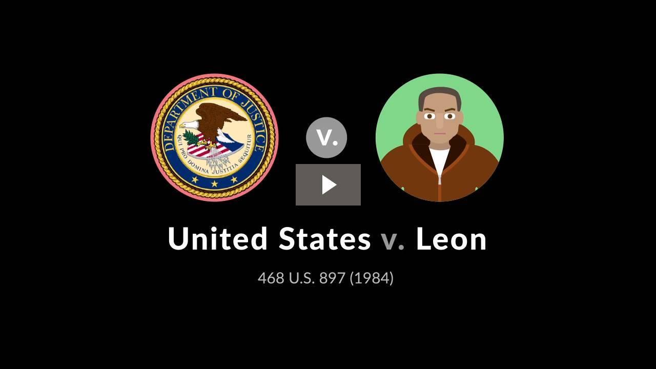 United States v. Leon