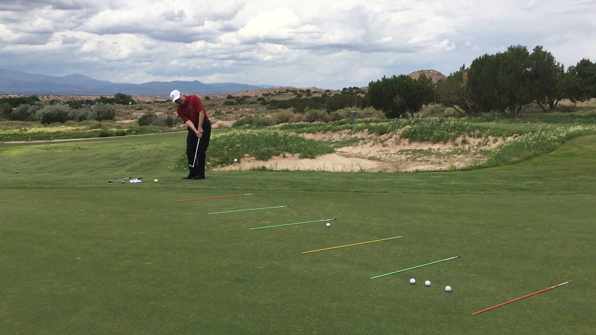 3x5 Ladder Chipping Drill to Gain Feel Around Green