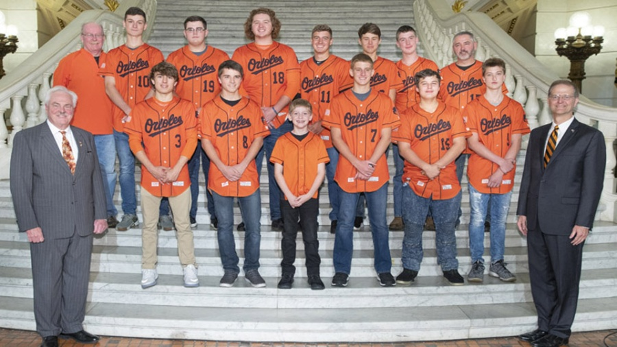 10/15/18 – Introduction of Rocky Grove HS Baseball Team
