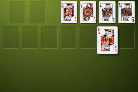 Top Solitaire - simple but very beatiful.