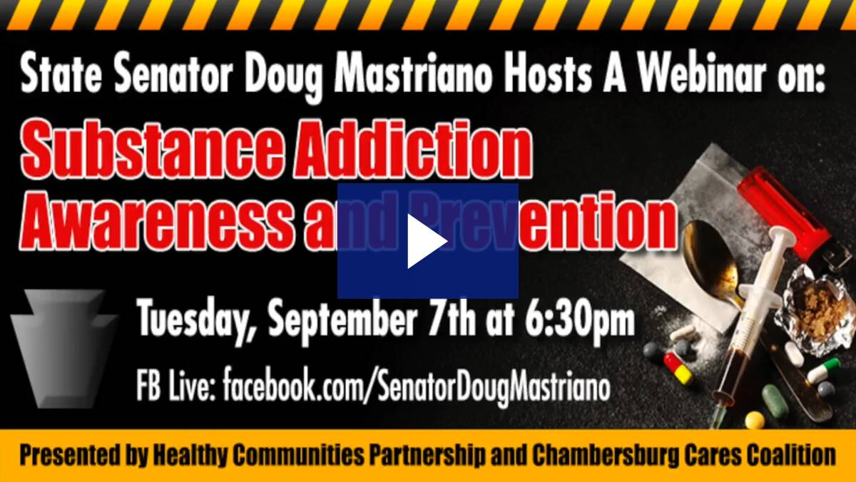 9/7/21 - Substance Addiction Awareness and Prevention Webinar