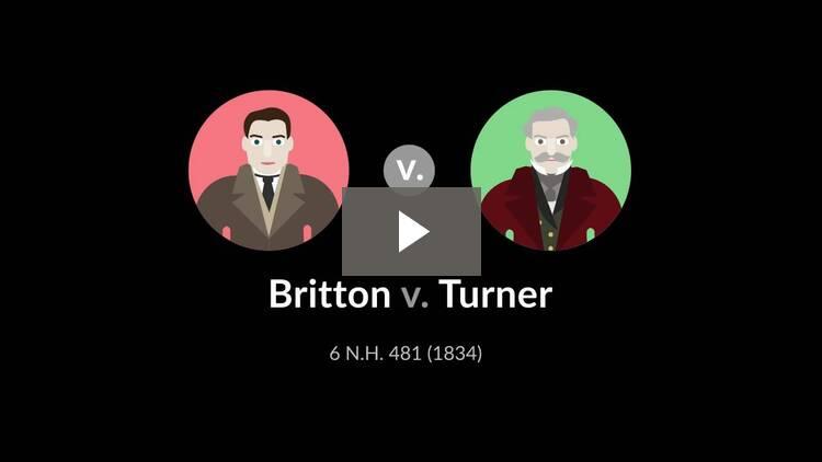 Britton v. Turner