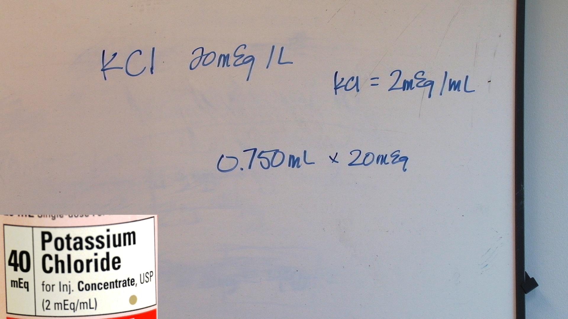 Medical math calculating fluid additives geenschuldenfo Choice Image