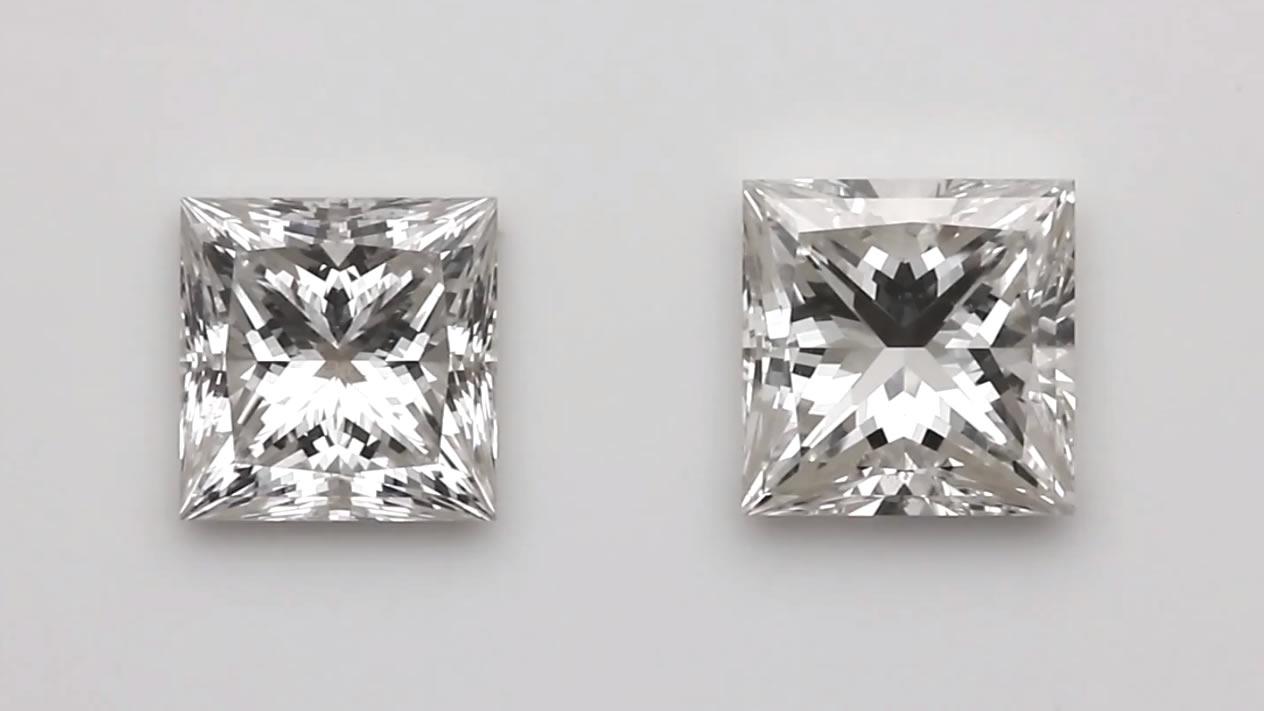 Princess cut diamonds - a guide