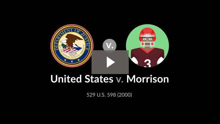 United States v. Morrison