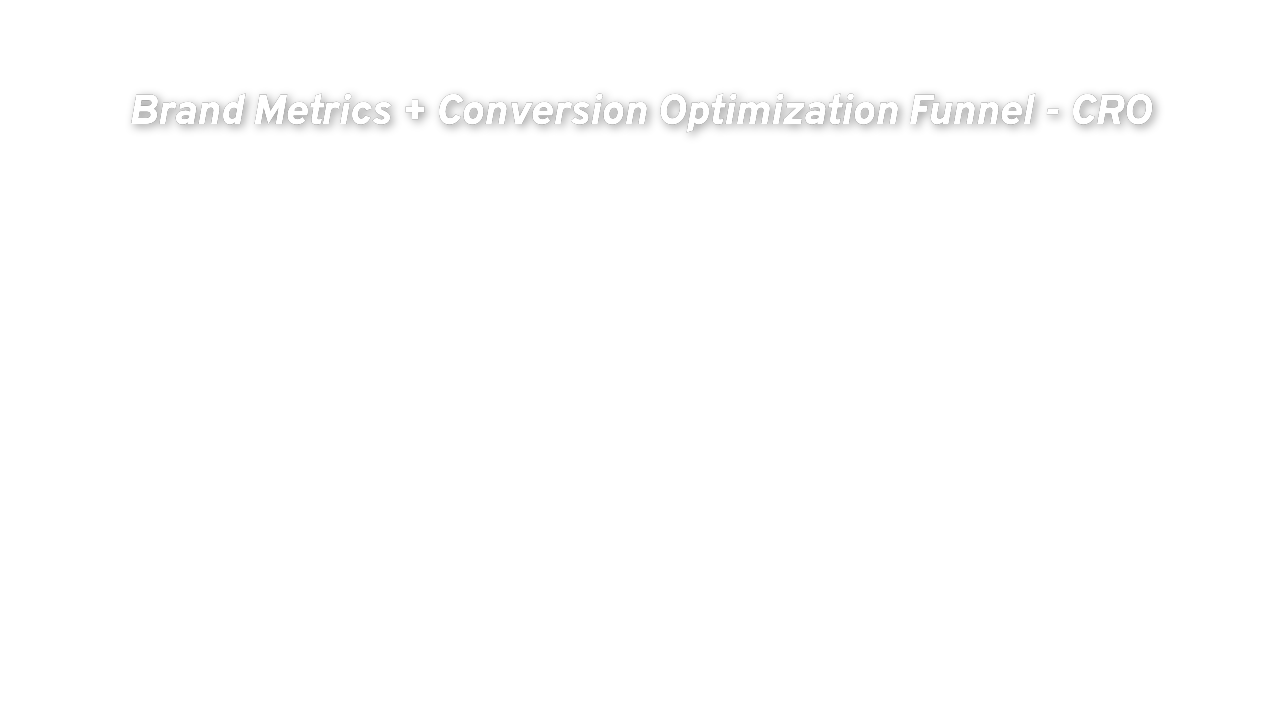 Brand Metrics + Conversion Optimization Funnel - CRO