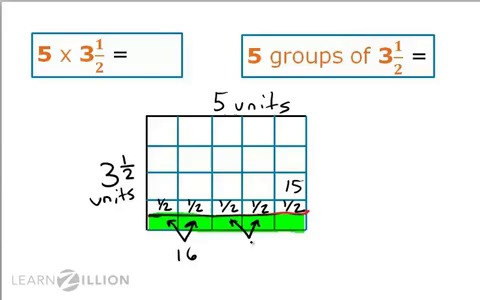math worksheet : lesson 7 divide with fractions  ready common core : Multiplying Fractions Using Models Worksheet