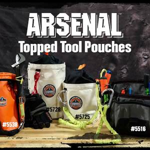 Ergodyne Product Video - Arsenal<sup>®</sup> 5728 Topped Bolt Bag - Tall