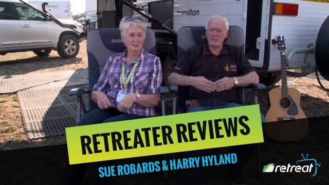 Retreater Review – Sue Robards & Harry Hyland