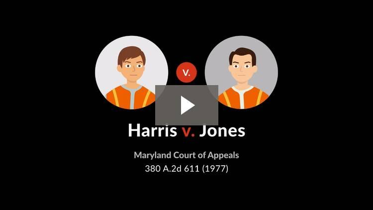 Harris v. Jones