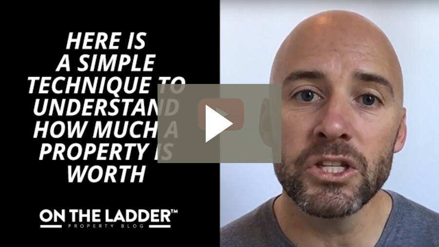 Here is a simple technique to understand how much a property is worth