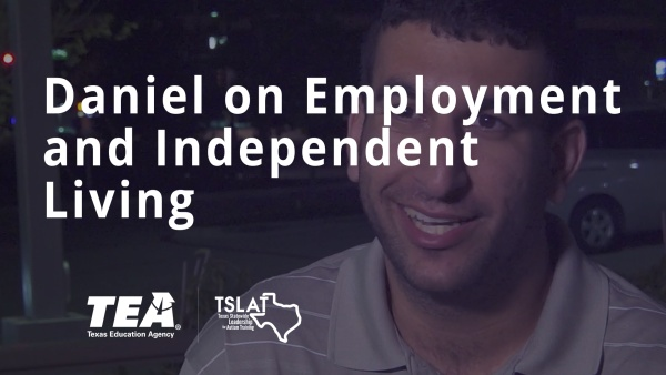 Daniel on Employment and Independent Living