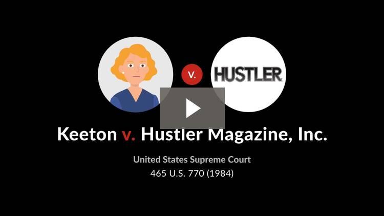 Keeton v. Hustler Magazine, Inc.