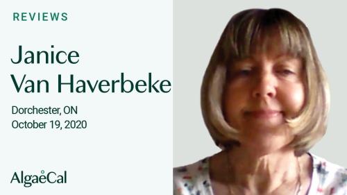 Testimonial thumbnail portrait of Janice Van Haverbeke