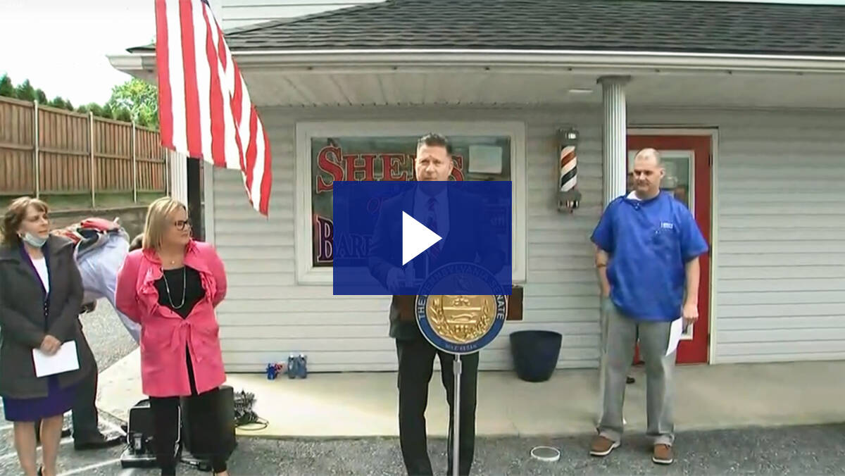 5/14/20 – News Conference: Response to Governor Wolf Threatening Local Businesses