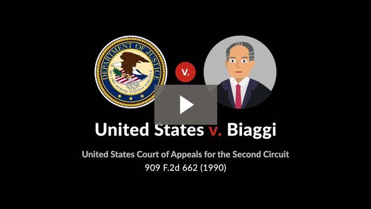 United States v. Biaggi