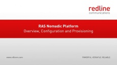 RAS Nomadic Platform-Overview-Configuration-Provisioning
